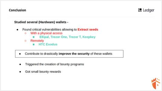 Extracting seeds from Wallets